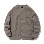 カバーナット(COVERNAT)CO2003JKF2 ノーカラーフリースジャケット/ベージュ S