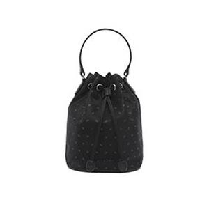 AGATHA(アガタ)AGT202-710 ヌーボ軽量バケットバッグ(巾着型2Wayバッグ)/ブラック - 拡大画像