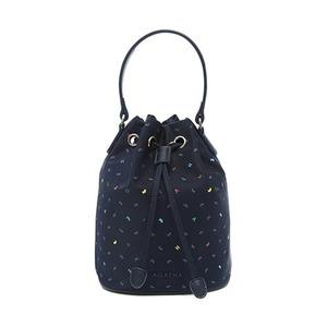 AGATHA(アガタ)AGT202-710 ヌーボ軽量バケットバッグ(巾着型2Wayバッグ)/ネイビー - 拡大画像
