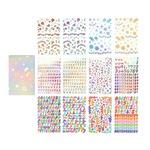 Dailylike(デイリーライク)大容量ダイアリーステッカーパック12枚セット