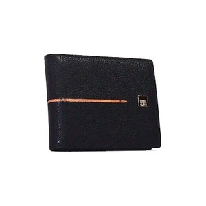 PRIMA CLASSE(プリマクラッセ)SPSW5-1104 Sライン二つ折り財布(メンズ)/ブラック - 拡大画像