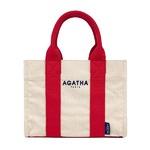 AGATHA(アガタ)AGT192-508 スクエアタンブラートートM/レッド