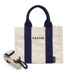 AGATHA(アガタ)AGT192-508 スクエアタンブラートートM/ネイビー