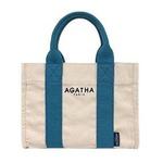 AGATHA(アガタ)AGT192-508 スクエアタンブラートートM/ブルー