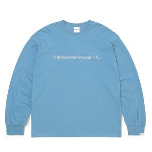 thisisneverthat(ディスイズネバーザット)TN21SLS001 SP-INTL・L/LS長袖Tシャツ スレート M - 拡大画像