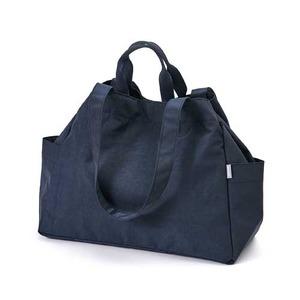 Dailylike(デイリーライク)大容量・軽量・ポケットたっぷりマーケットバッグ/03ネイビー - 拡大画像