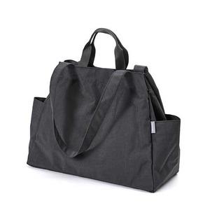 Dailylike(デイリーライク)大容量・軽量・ポケットたっぷりマーケットバッグ/05チャコール - 拡大画像