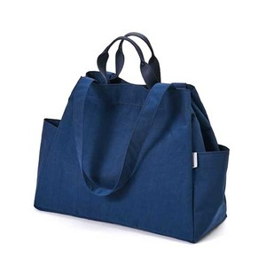 Dailylike(デイリーライク)大容量・軽量・ポケットたっぷりマーケットバッグ/06デニム - 拡大画像