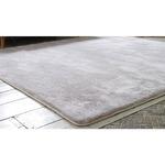 フランネルミックス ラグマット/絨毯 【190cm×190cm ライトブラウン】 正方形 ホットカーペット 床暖房可 低反発&高反発 防音