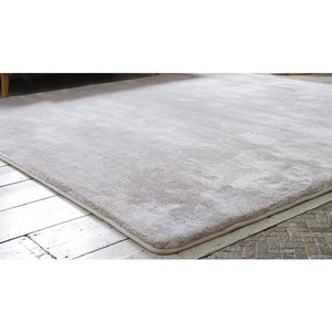 フランネルミックス ラグマット/絨毯 【190cm×240cm グリーン】 長方形 ホットカーペット 床暖房可 低反発&高反発 防音 - 拡大画像