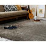 モダン 絨毯/フロアマット 【190cm×240cm グレージュ】 長方形 洗える 床暖房可 防滑 『マイクロセレクトラグマット』