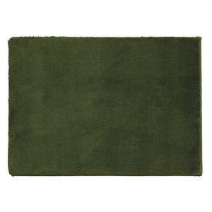 スミノエ 消臭・防炎マット スミトロンサキソニー 約50×80cm グリーン - 拡大画像