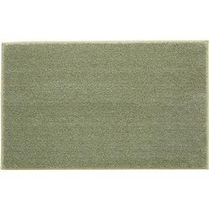 スミノエ 消臭・防炎・防音マット シープフレーテ 約50×80cm グリーン - 拡大画像