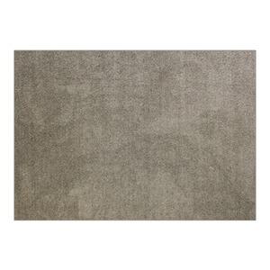 防音 ラグマット/絨毯 【フレイク 185cm×185cm 2帖 ベージュ】 正方形 床暖房可 防滑 オールシーズン 〔リビング〕 - 拡大画像