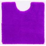トイレマット/お手洗いマット 【60cm×60cm ピンク】 正方形 洗える 吸水 速乾 VIF 『デザインライフ』 〔レストルーム〕