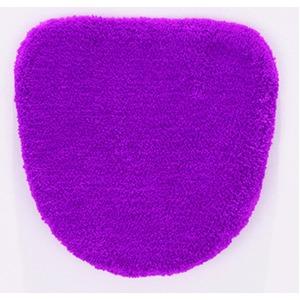 トイレフタカバー/お手洗いフタカバー 【48cm×49cm ピンク】 洗える 吸水 速乾 洗浄用 VIF 『デザインライフ』 - 拡大画像