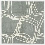 ナイロンラグ/絨毯 【200cm×250cm グレー】 長方形 日本製 防滑 オールシーズン対応 ホット&クール 『レシェ』
