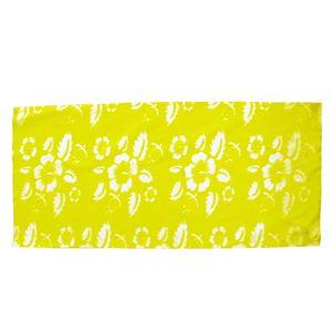 (まとめ)アーテック パイプバンダナ(伸びるバンダナ) 筒状 ポリエステル100% 蛍光イエロー(黄) 【×30セット】 - 拡大画像
