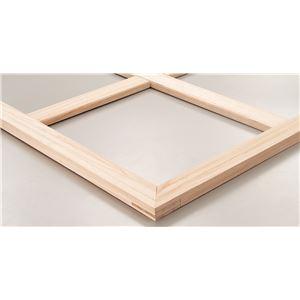(まとめ)アーテック 木枠/キャンバス用品 【F6】 410×318mm 桐材 組立済 【×10セット】