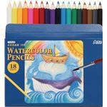 (まとめ)アーテック 水彩色鉛筆18色 【×40セット】