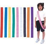 (まとめ)アーテック カラーたすき/襷 【巾60mm×1.5m】 綿100% イエロー(黄) 【×40セット】
