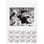 (まとめ)アーテック キャンバスカレンダー 2014年 【×80セット】