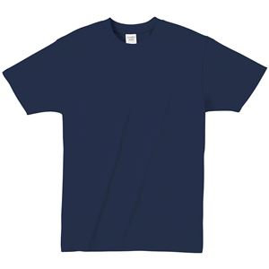 (まとめ)ATドライTシャツ M ネイビー 150g ポリ100% 【×10個セット】 - 拡大画像
