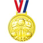 (まとめ)ゴールド3Dスーパービッグメダル なかよし 【×10個セット】