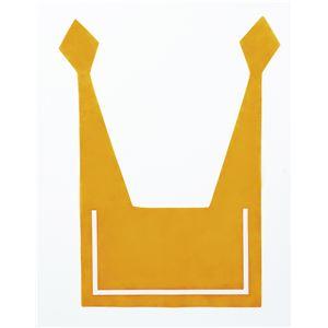 (まとめ)セーラーえり オレンジ 【×10個セット】 - 拡大画像