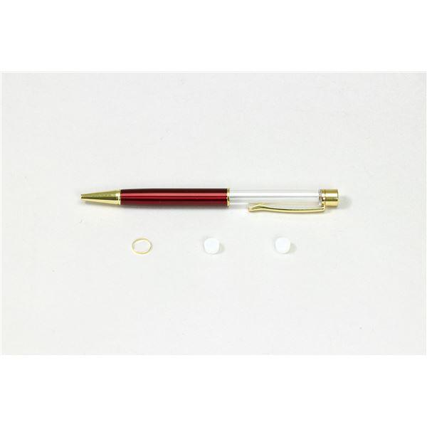 (まとめ)クラフト用ボールペン レッド 芯別売り【×10セット】