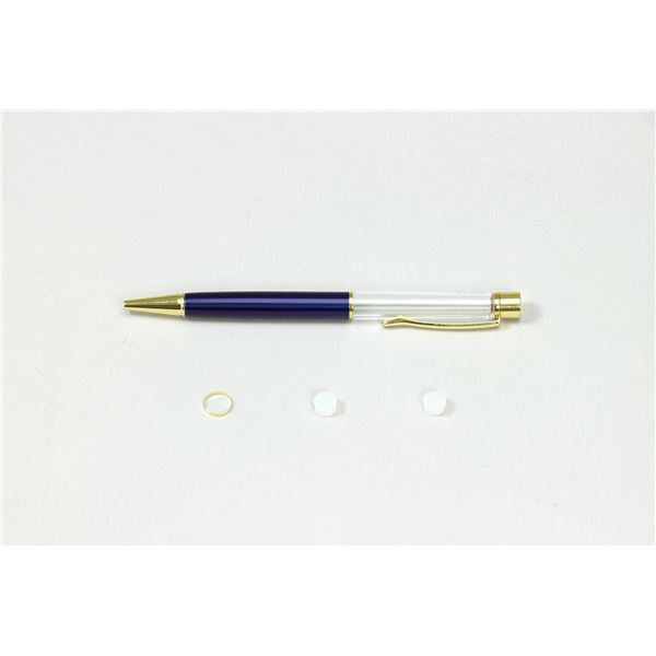 (まとめ)クラフト用ボールペン ブルー 芯別売り【×10セット】