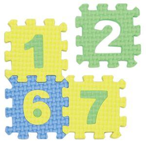 (まとめ)EVAすうじパズル【×50セット】 - 拡大画像