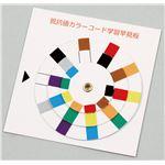 (まとめ)抵抗値カラーコード学習早見盤【×50セット】