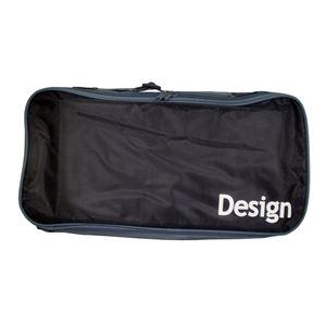(まとめ)SEデザインバッグ 黒【×10セット】 - 拡大画像
