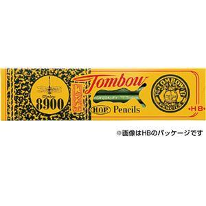 (まとめ)トンボ鉛筆 8900 2H 12本入り【×10セット】 - 拡大画像