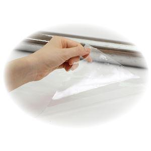 (まとめ) 飛沫防止PVC透明シート 915×3500mm 【×2セット】 - 拡大画像