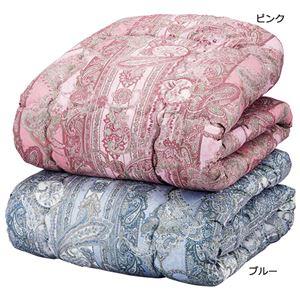 軽くてあったかシンサレート掛け布団 【シングルサイズ 2色組/ピンク・ブルー】 - 拡大画像