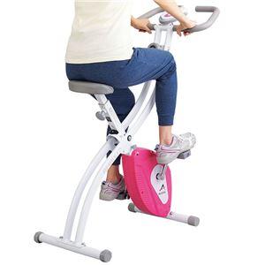 アルインコ健康クロスバイク(フィットネスバイク/運動器具) 幅46cm×奥行91cm - 拡大画像