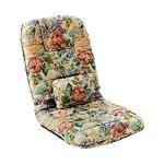 折りたたみ式コンパクト座椅子(リクライニング) 【1脚】 花柄