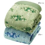 楊柳 肌掛け布団 【シングル 2色組】 日本製 綿100% 〔寝室 寝間 ベッドルーム〕
