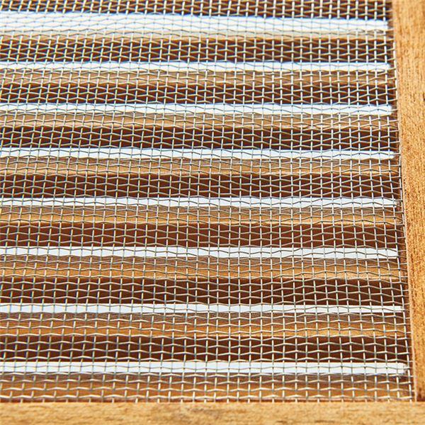 ルーバー網戸両面 ストッカー/キッチン収納 【ライトブラウン 幅60cm】 引き出し2杯 木製 〔ダイニング〕