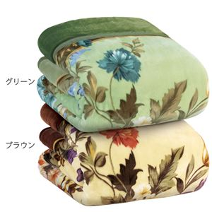 大判衿付き 毛布布団/寝具 【シングル 2色組】 3M シンサレート使用 ポリエステル 〔ベッドルーム 寝室〕