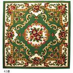 3色から選べるウィルトン織カーペット ブーケグリーン