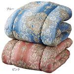 【ASAHI KASEI】 温感調節 掛け布団/寝具 【ダブル ブルー】 日本製 アクアミュー 〔寝室 ベッドルーム〕