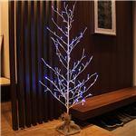 屋外対応 クリスマスツリー 【麻布付き 高さ120cm】 点灯スイッチ 室内室外専用アダプター付き 『LEDブランチツリー』