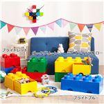 【LEGO (R) レゴ】 収納ボックス 【ブライトブルー】 引出しタイプ ワイドタイプ 『ブリックドロワー8/ブリックドロワー4』
