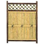 竹製目隠しラティス 約88×120cm 専用スタンド別売