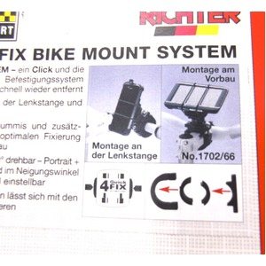 HR 4QUICK FIX BIKE  MOUNT SYSYEM 1702/66