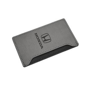 US純正 HONDA (ホンダ) カードケース グレー PCH.HON.GRY - 拡大画像