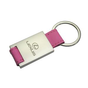 LEXUS(レクサス) ピンクレザー キーリング LEK10-03P-A - 拡大画像